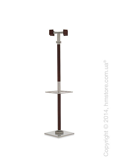 Вешалка Calligaris Landscape, Coat and umbrella stand, Solid wood oak wenge stained