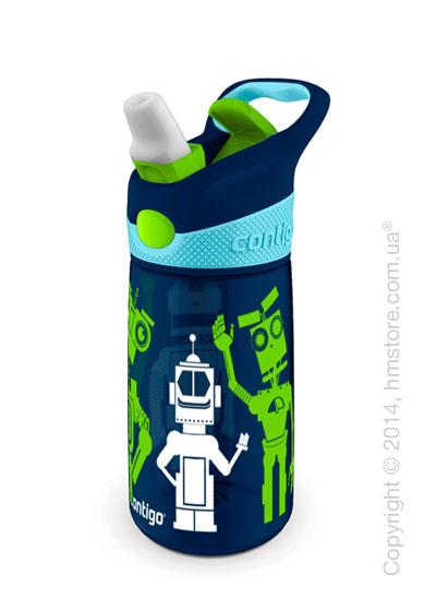 Детская фляга Contigo Striker, Blue 420 мл