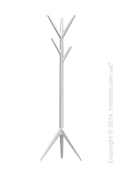 Вешалка Calligaris Memorabilia, Coat stand, Lacquered matt optic white