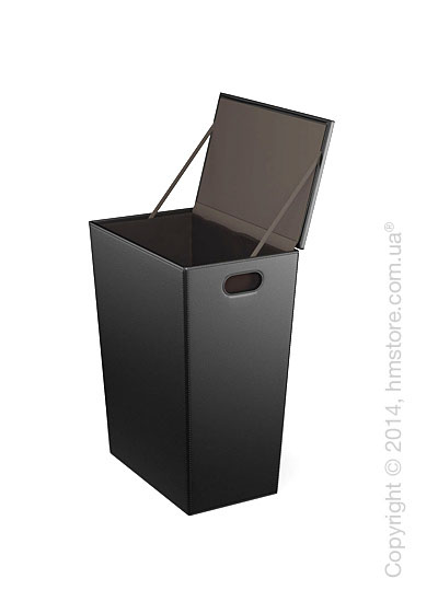 Корзина Calligaris Chest, PVC Black