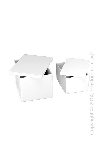 Набор ящиков Calligaris Clever, 2 предмета, PVC White
