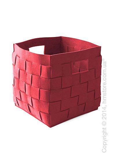 Корзина Calligaris Connor, Polyester felt brick red
