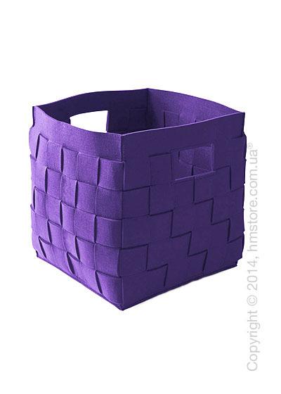 Корзина Calligaris Connor, Polyester felt violet