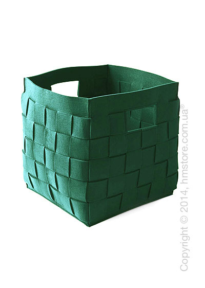 Корзина Calligaris Connor, Polyester felt green