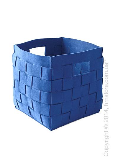 Корзина Calligaris Connor, Polyester felt blue