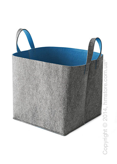 Корзина Calligaris Elliott, Polyester felt grey and Blue