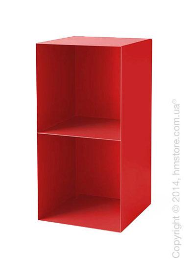 Книжная полка Calligaris Division, Aluminium matt red