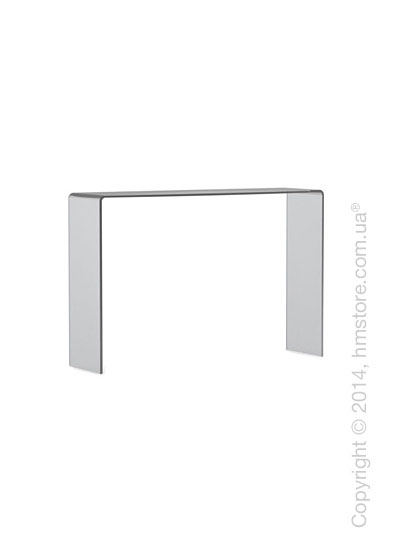 Стол Calligaris Enter, Frosted glass smoked grey