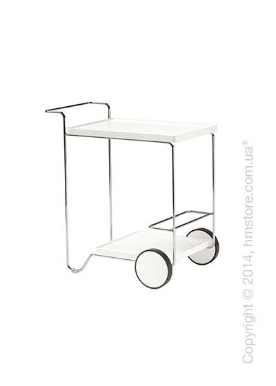 Сервировочный столик Сalligaris Tray Roller, Finish glossy optic white