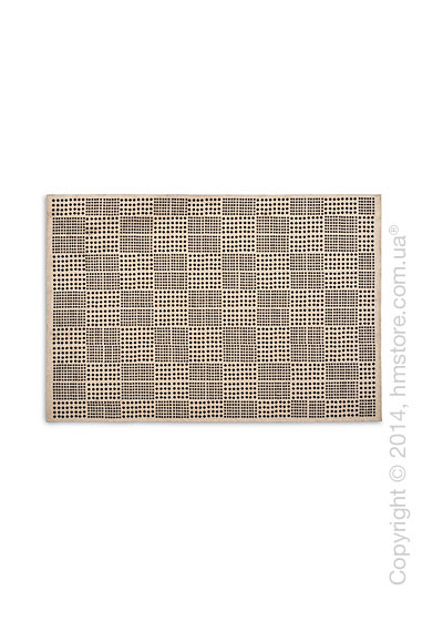 Ковер Calligaris Africa M, Chenille and cotton, Ecru and black