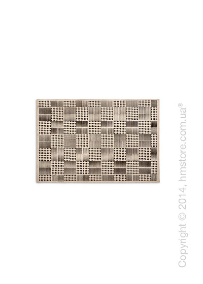 Ковер Calligaris Africa S, Chenille and cotton, Ecru and black