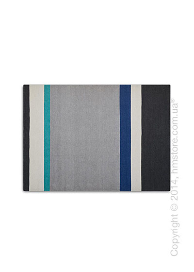 Ковер Calligaris Follower XL, Wool blue and Aquamarine