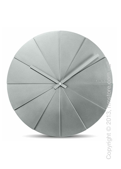 Часы настенные LEFF Amsterdam wall clock scope45 grey