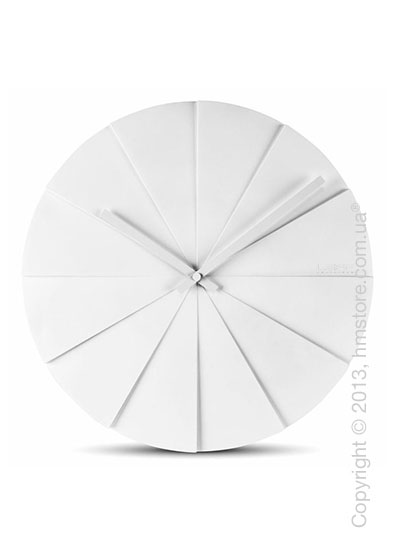 Часы настенные LEFF Amsterdam wall clock scope45 white
