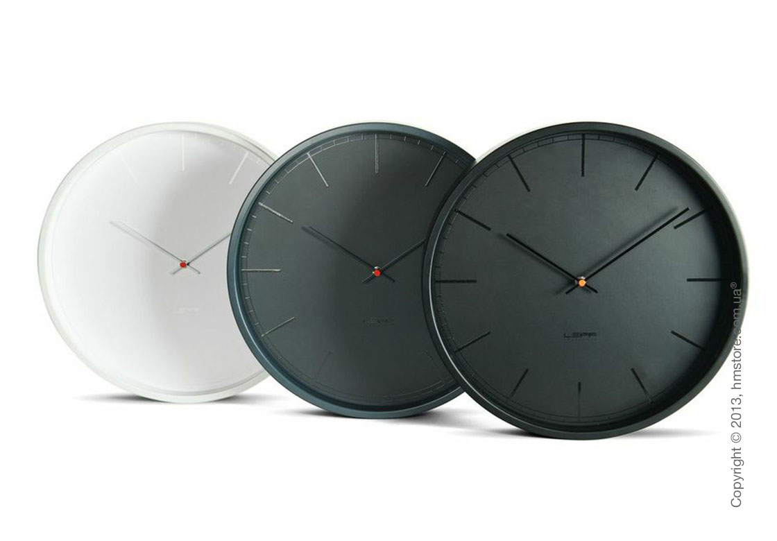 Часы настенные LEFF Amsterdam wall clock tone35, Grey index