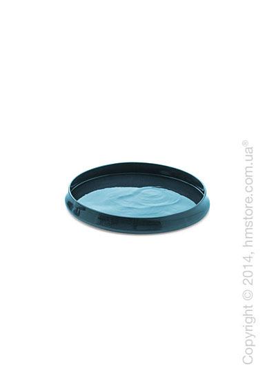 Настольная ваза Calligaris Glenn S, Ceramic petrol blue