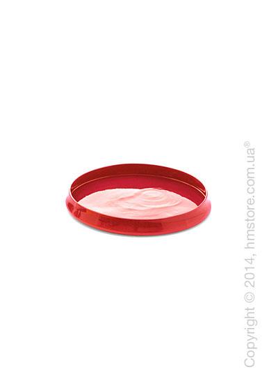 Настольная ваза Calligaris Glenn S, Ceramic coral red