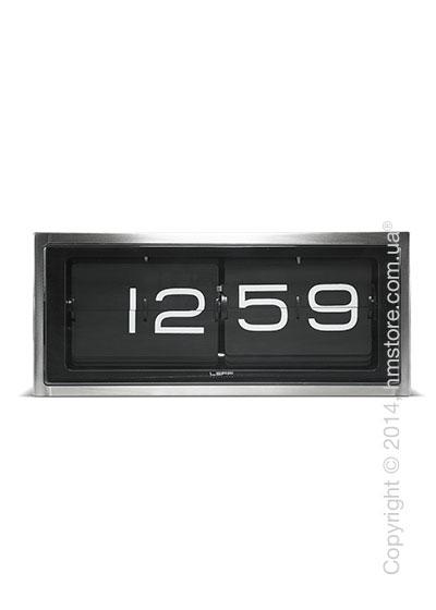 Часы LEFF Amsterdam wall/desk clock brick black stainless steel 24h