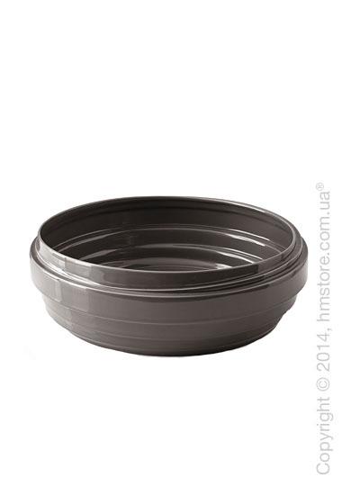 Настольная ваза Calligaris Lennox, Ceramic dark taupe