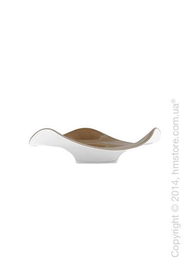 Настольная ваза Calligaris Lorraine, Glass, Topaz and white