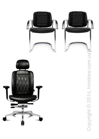 Комплект – кресло Wagner AluMedic Limited S Comfort, два кресла AluMedic Limited S Comfort Visit