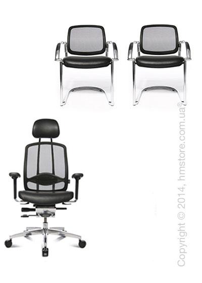 Комплект – кресло Wagner AluMedic Limited, два кресла AluMedic Limited Visit