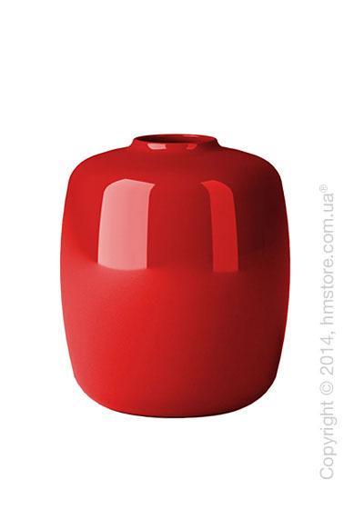 Ваза Calligaris Blanco S, Glass red