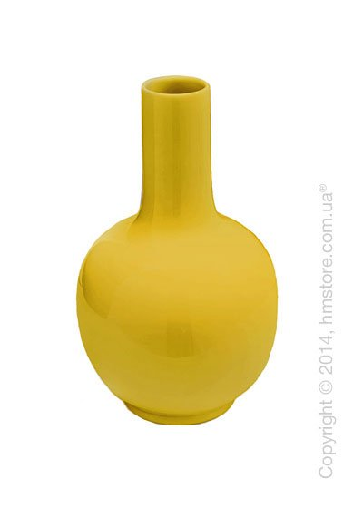 Ваза Calligaris Evan, Ceramic yellow