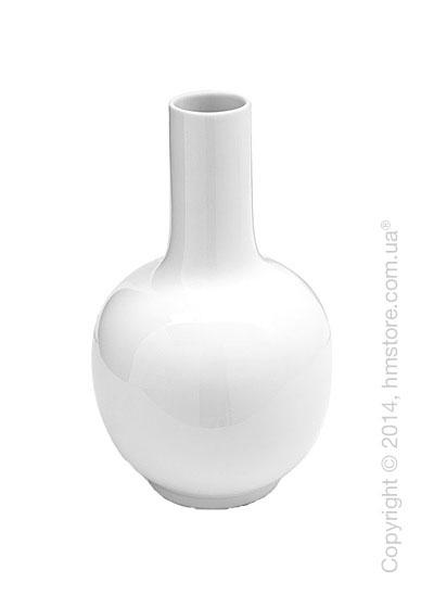 Ваза Calligaris Evan, Ceramic white
