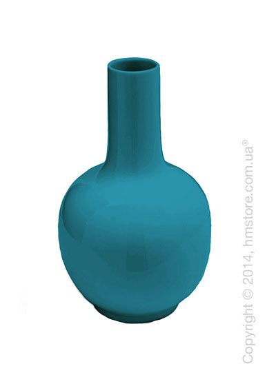 Ваза Calligaris Evan, Ceramic petrol blue