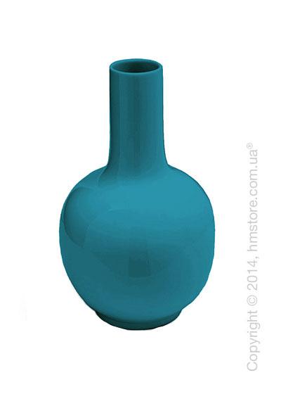 Ваза Calligaris Evan, Ceramic petrol blue