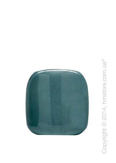 Ваза Calligaris Flavour M, Ceramic ocean green