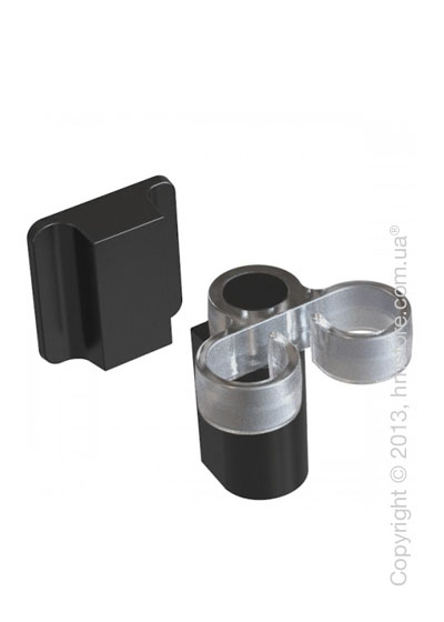 Магнитный держатель Magisso Kitchen Dish Brush Holder, Black