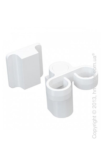 Магнитный держатель Magisso Kitchen Dish Brush Holder, White