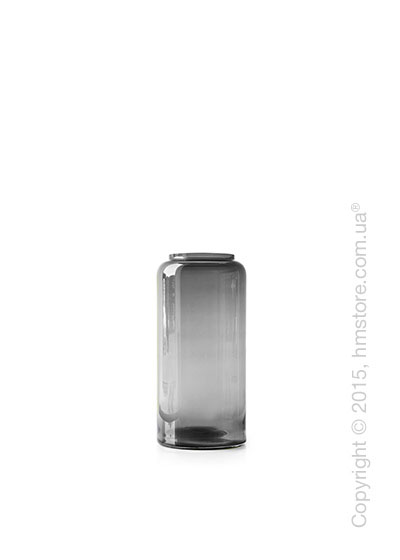 Ваза Calligaris Honey S, Glass transparent grey