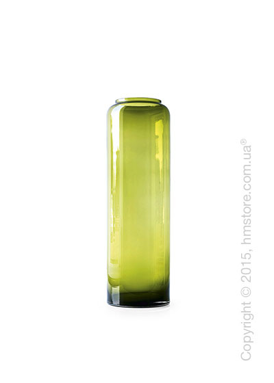 Ваза Calligaris Honey L, Glass transparent olive green