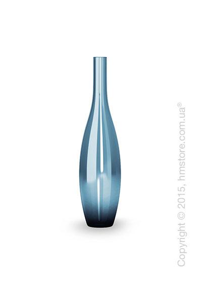 Ваза Calligaris Jupiter M, Glass transparent blue