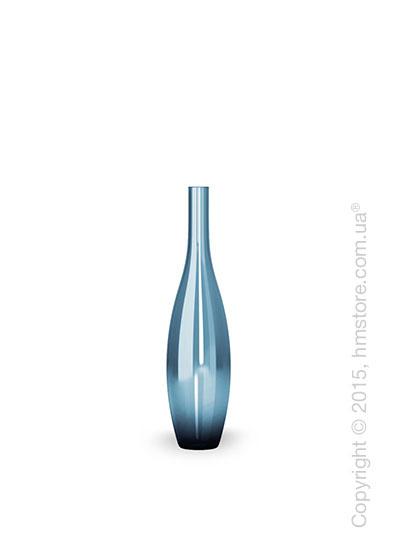 Ваза Calligaris Jupiter S, Glass transparent blue
