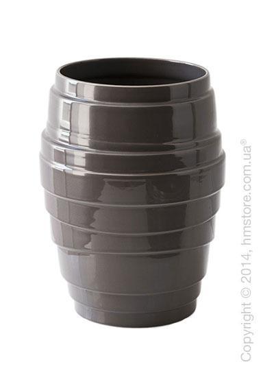 Ваза Сalligaris Lennox, Ceramic dark taupe