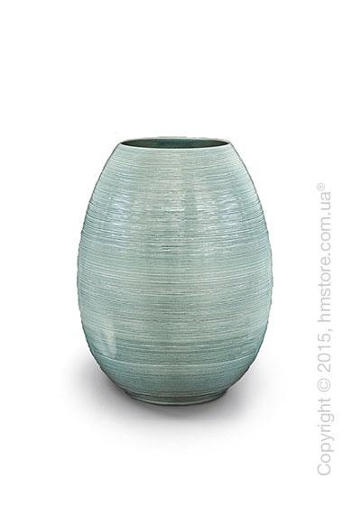 Ваза Calligaris Leslie M, Ceramic light sage green