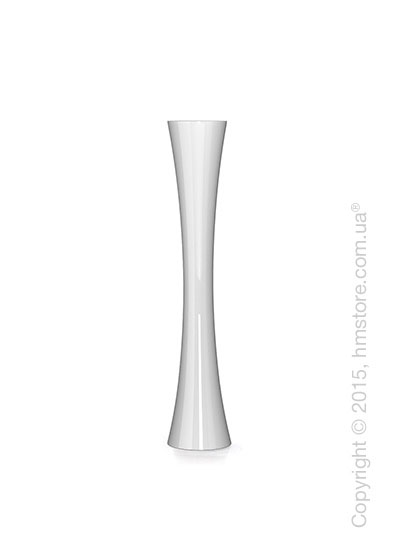 Ваза Calligaris Tiara M, Glass white