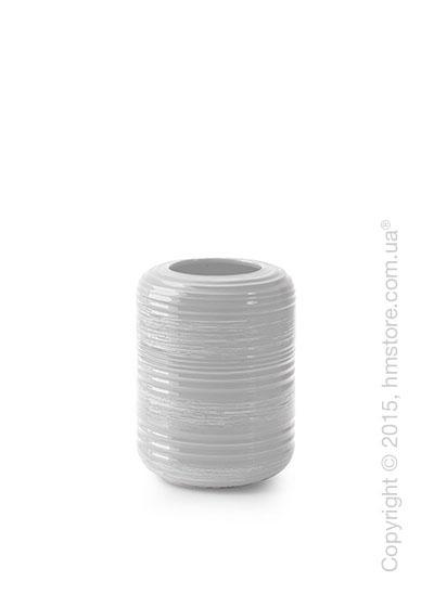 Ваза Calligaris Tristan S, Ceramic white
