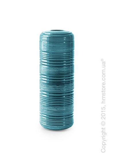 Ваза Calligaris Tristan L, Ceramic petrol blue