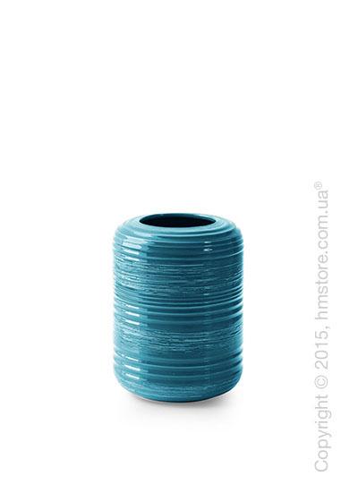 Ваза Calligaris Tristan M, Ceramic petrol blue