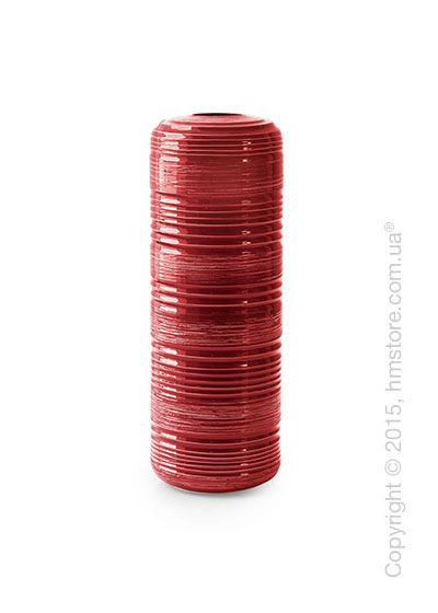 Ваза Calligaris Tristan L, Ceramic coral red