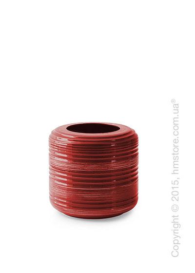 Ваза Calligaris Tristan S, Ceramic coral red