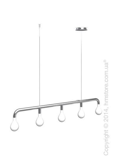 Подвесной светильник Calligaris Pom Pom, Suspension lamp, Metal chromed