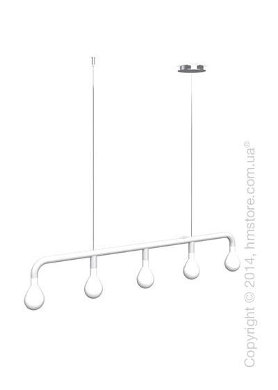 Подвесной светильник Calligaris Pom Pom, Suspension lamp, Metal matt white