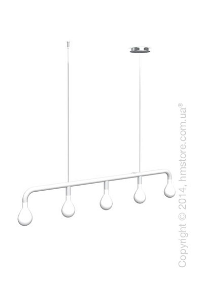 Подвесной светильник Calligaris Pom Pom, Suspension lamp, Metal matt white