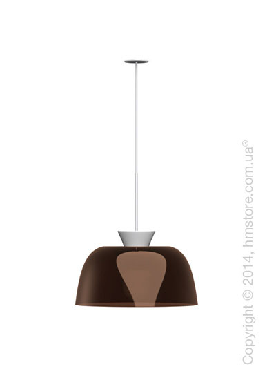 Подвесной светильник Calligaris Arpège, Suspension lamp, Glossy transparent smoked bronze